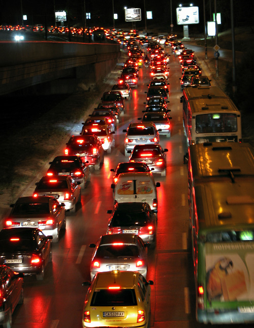 sofia traffic