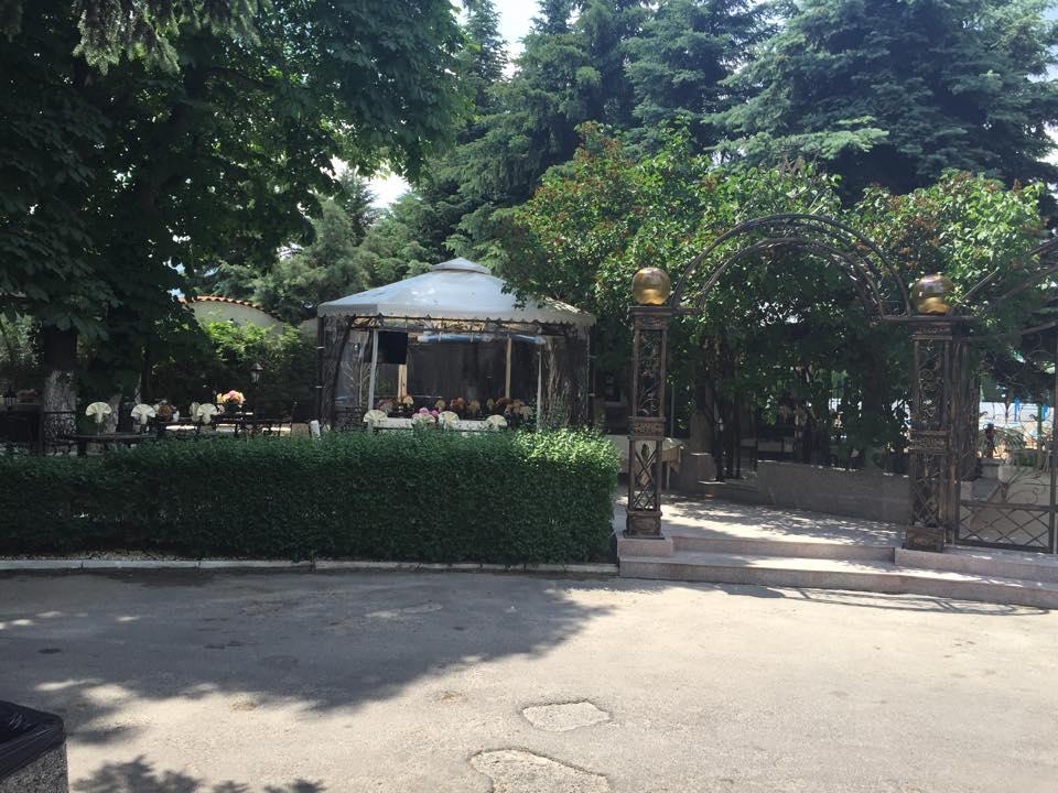 Ресторант градина Монтесито