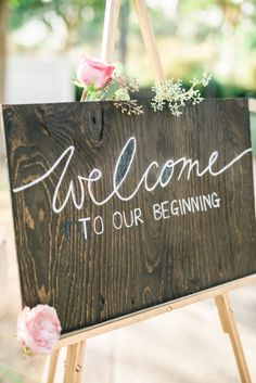 welcome wedding