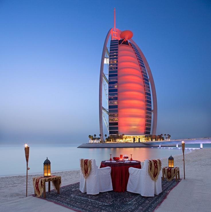 Бурж Ал Араб в Дубай