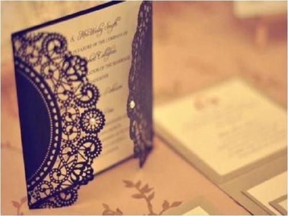 кралска елегантност сватбена покана