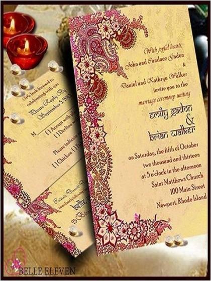 стилна сватбена покана