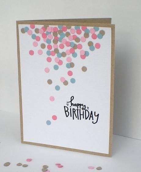 Класическа картичка за рожден ден