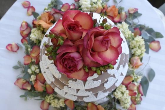декорации сватбени торти