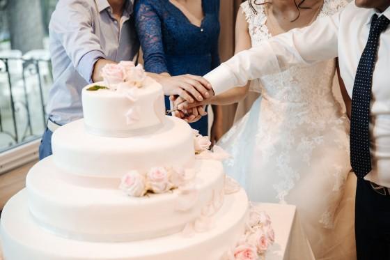 разрязване на тортата