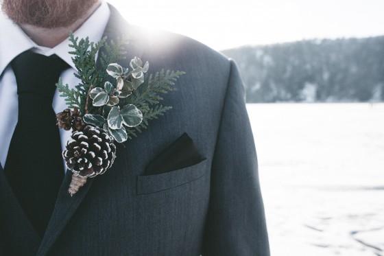 декорация сватба през зимата