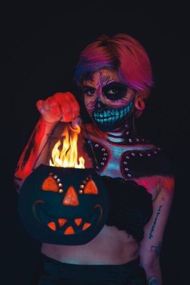 костюм на зомби хелоуин