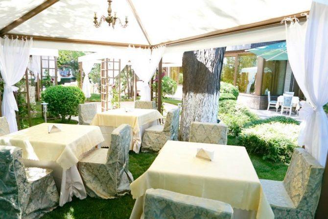 голям ресторант с градина София